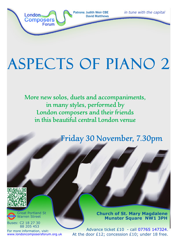 Aspects of Piano 2 poster